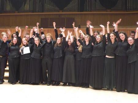 Adult Choir of the Year winners 2014