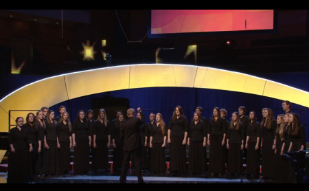 Performing in the Final of Choir of the Year 2014